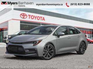 New 2021 Toyota Corolla SE Upgrade Package  - Navigation - $174 B/W for sale in Ottawa, ON
