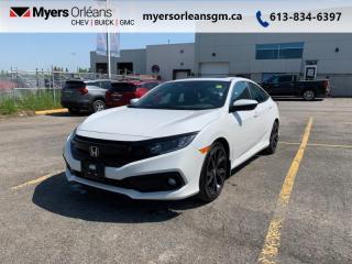 Used 2019 Honda Civic Sedan Sport CVT  - Sunroof -  Heated Seats for sale in Orleans, ON