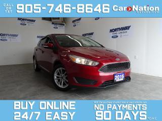 Used 2016 Ford Focus SE | HATCHBACK | REAR CAM | BLUETOOTH for sale in Brantford, ON