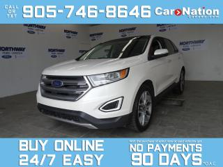 Used 2017 Ford Edge TITANIUM | AWD | V6 | PANO ROOF | LEATHER | NAV for sale in Brantford, ON