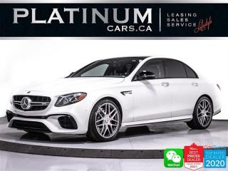 Used 2018 Mercedes-Benz E-Class AMG E63 S,603HP,4MATIC+ DRIVING AST PLUS,NIGHT PKG for sale in Toronto, ON