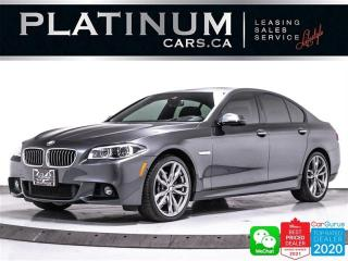 Used 2016 BMW 5 Series 535i xDrive, MSPORT, M-PERF KIT, DRIVERS PKG, CAM for sale in Toronto, ON