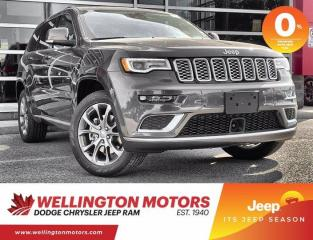 New 2021 Jeep Grand Cherokee Summit for sale in Guelph, ON