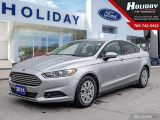 Used 2014 Ford Fusion S for sale in Peterborough, ON