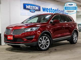 Used 2015 Lincoln MKC NAVIGATION+LEATHER+HEATED STEERING WHEEL/SEATS/MIRRORS for sale in Toronto, ON