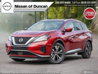 New 2021 Nissan Murano SV for sale in Duncan, BC