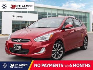 Used 2016 Hyundai Accent GLS, Local One Owner, Heated Seats, Power Sunroof for sale in Winnipeg, MB