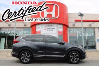 Used 2018 Honda CR-V Touring -  HONDA CERTIFIED - RATES STARTING @ 3.69% - for sale in Sudbury, ON