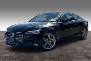 Used 2018 Audi A5 2.0T Technik quattro 7sp S Tronic Cpe for sale in Langley, BC