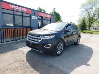 Used 2016 Ford Edge Titanium|Leather|Pano roof|Navi|AWD for sale in St. Thomas, ON