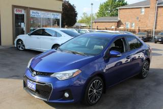 Used 2014 Toyota Corolla S Sunroof Alloy Wheels for sale in Brampton, ON