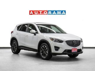 Used 2016 Mazda CX-5 GT AWD Navigation Leather Sunroof Backup Cam for sale in Toronto, ON