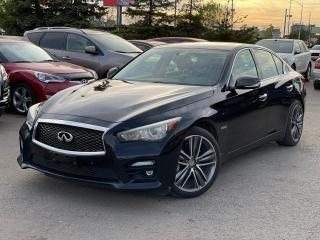 Used 2014 Infiniti Q50 Q50-S AWD|Hybrid|Navi|Roof|Clean Carfax| for sale in Bolton, ON