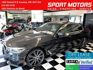 Used 2017 BMW 5 Series 540i xDrive+AdaptiveCruise+CooledSeat+CLEAN CARFAX for sale in London, ON