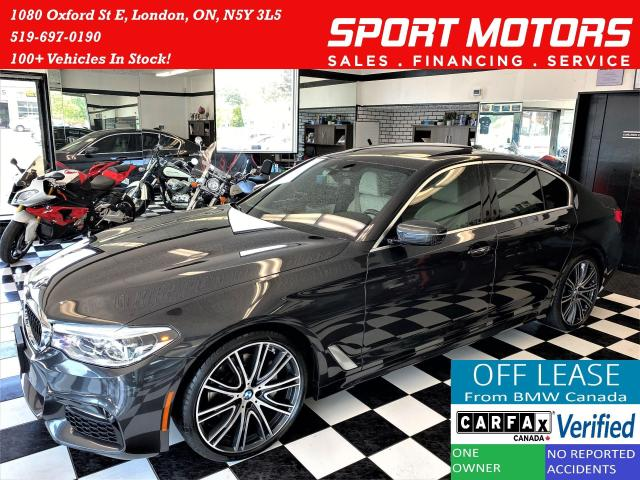 2017 BMW 5 Series 540i xDrive+AdaptiveCruise+CooledSeat+CLEAN CARFAX