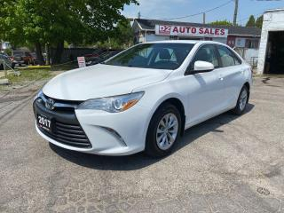 Used 2017 Toyota Camry LE/Automatic/Bckup Camera/Bluetooth/Certified for sale in Scarborough, ON