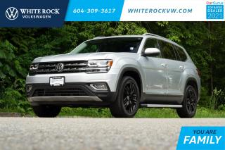 Used 2019 Volkswagen Atlas 3.6 FSI Execline *DIGITAL DASH* *LANE ASSIST* *ADAPTIVE CRUISE* *LEATHER* *SUNROOF* for sale in Surrey, BC