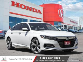 Used 2019 Honda Accord Touring 1.5T APPLE CARPLAY™ & ANDROID AUTO™ | WIRELESS CHARGING | GPS NAVIGATION for sale in Cambridge, ON