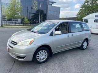 Used 2004 Toyota Sienna Automatic, 7 Passengers, 3 Years warranty availabl for sale in Toronto, ON
