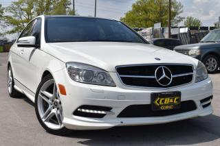 Used 2011 Mercedes-Benz C-Class C 350 - NO ACCIDENTS - AMG PACKAGE for sale in Oakville, ON