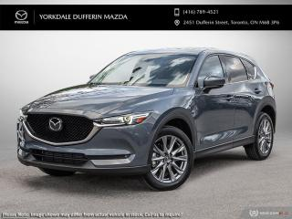 New 2021 Mazda CX-5 GT w/Turbo for sale in York, ON