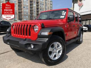 New 2021 Jeep Wrangler UNLIMITED SPORT for sale in North York, ON