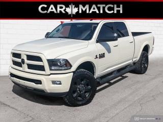 Used 2017 RAM 2500 LARAMIE / NO ACCIDENTS / DIESEL / NAV / LEATHER for sale in Cambridge, ON