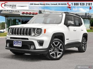 Used 2020 Jeep Renegade Limited for sale in Cornwall, ON