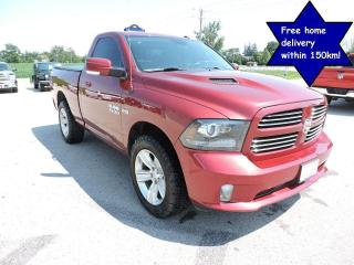 Used 2015 RAM 1500 Sport Hemi 1 owner No rust  New tires Navigation for sale in Gorrie, ON