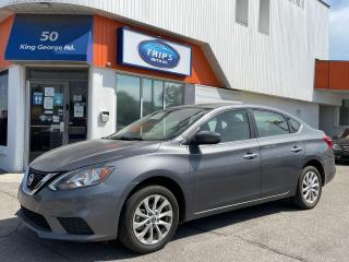 Used 2016 Nissan Sentra SV | REAR CAM | PUSH STRT | BLUETOOTH | MOONROO for sale in Brantford, ON