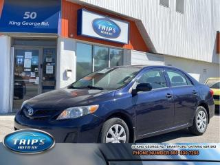 Used 2013 Toyota Corolla CE | LOW KMS/ACCIDENT FREE/PRICED-QUICK SALE for sale in Brantford, ON