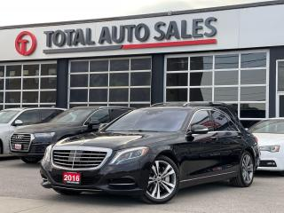 Used 2016 Mercedes-Benz S-Class MASSAGE SEATS   DISTRONIC   HEATED/VENTED   360CAM for sale in North York, ON
