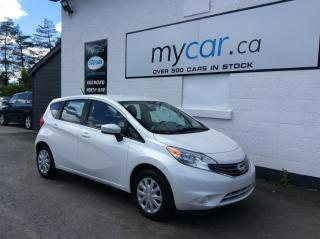 Used 2016 Nissan Versa Note 1.6 SV BACKUP CAM, POWERGROUP, A/C!! AWESOME VALUE!! for sale in Richmond, ON