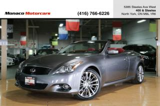 Used 2014 Infiniti Q60 - RED INTERIOR|NAVI|BACKUP|BOSE|REAR SONAR for sale in North York, ON