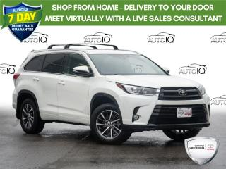 Used 2017 Toyota Highlander XLE Moon Roof | Power Tail Gate | Navigation for sale in Welland, ON