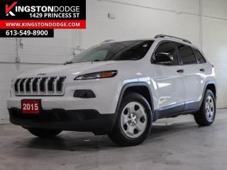Used 2015 Jeep Cherokee Sport SPORT   4X4   ONE OWNER   REMOTE START   for sale in Kingston, ON