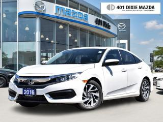 Used 2016 Honda Civic Sedan EX ONE OWNER| MOONROOF|REAR-VIEW CAMERA for sale in Mississauga, ON