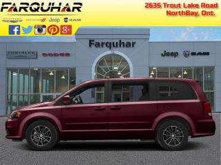 Used 2019 Dodge Grand Caravan Crew - Leather Seats for sale in North Bay, ON