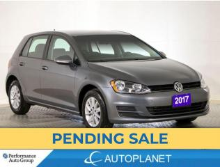Used 2017 Volkswagen Golf Trendline, Back Up Cam, Heated Seats, Clean Carfax for sale in Brampton, ON
