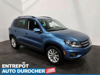Used 2017 Volkswagen Tiguan Édition Wolfsburg - AWD - Bluetooth - Climatiseur for sale in Laval, QC