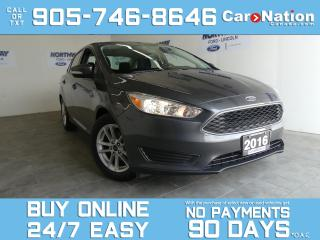 Used 2016 Ford Focus SE | REAR CAM | SYNC | WOW ONLY 10 KM! for sale in Brantford, ON