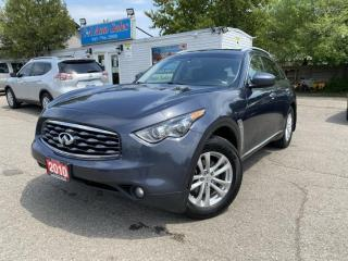 Used 2010 Infiniti FX35 AWD 4dr * BACK UP CAM*NO ACCIDENTS *NEW TIRES for sale in Brampton, ON
