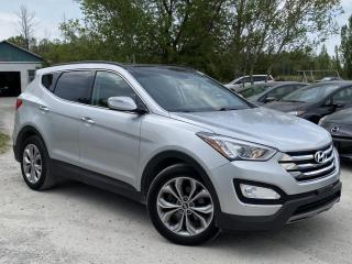 Used 2014 Hyundai Santa Fe Sport 1-Owner No-Accidents AWD Limited 2.0T Navi Pano Roof Saddle for sale in Sutton, ON