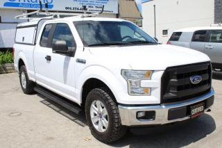 Used 2016 Ford F-150 4WD SuperCab 5.0L CAMERA BLUETOOTH CAB SHELVING LADDER RACK for sale in Mississauga, ON