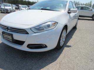 Used 2014 Dodge Dart Ltd/ ACCIDENT FREE for sale in Newmarket, ON