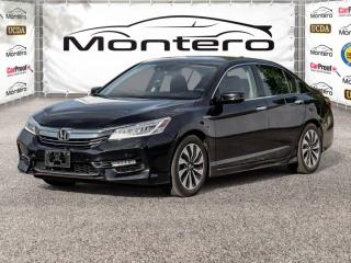 Used 2017 Honda Accord Hybrid TOURING, LEATHER, SUNROOF, NAV, BACKUP CAM, HEATED REAR SEAT for sale in North York, ON