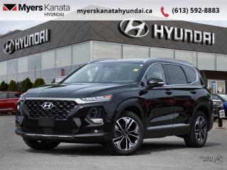 Used 2020 Hyundai Santa Fe 2.0T Ultimate AWD  - $314 B/W for sale in Kanata, ON