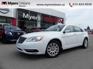 Used 2013 Chrysler 200 LX  -  Power Windows - $64 B/W for sale in Orleans, ON