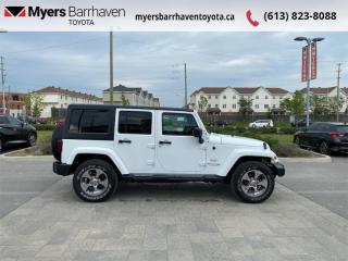 Used 2018 Jeep Wrangler Unlimited Sahara  - Aluminum Wheels - $283 B/W for sale in Ottawa, ON