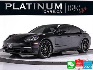 Used 2020 Porsche Panamera 4S, 440HP, AWD, PREMIUM PKG, NAV, CAM, PANO,VENTED for sale in Toronto, ON
